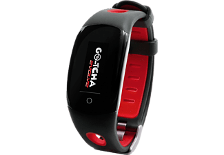 DATEL Go-tcha Evolve pour Pokémon GO - Montre intelligente (Rouge/Noir)