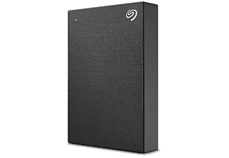 Disco duro externo 5T -  SEAGATE Backup Plus Portable, Windows y Mac, Negro