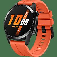 HUAWEI Watch GT 2 46mm Sunset Smartwatch Fluorkautschuk, 140-210 mm, Orange