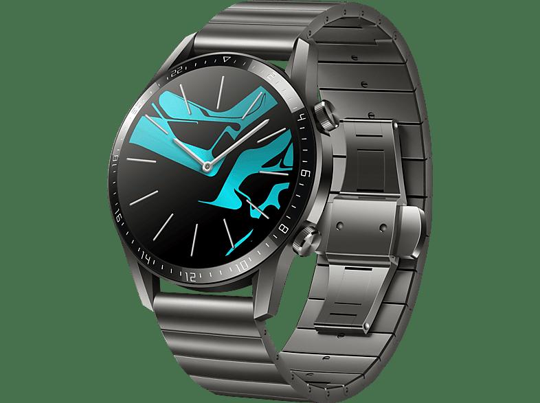 HUAWEI Watch GT 2 46mm Smartwatch Metall, 140 210 mm, Titan