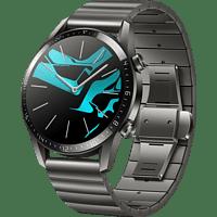 HUAWEI Watch GT 2 46mm Smartwatch Metall, 140-210 mm, Titan