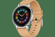 HUAWEI Watch GT 2 42mm Classic Smartwatch Leder, 130-200 mm, Beige