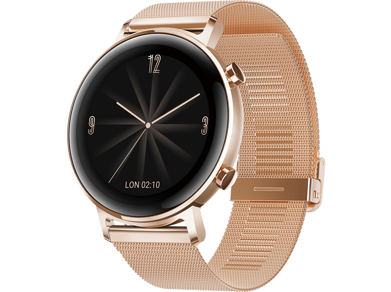 HUAWEI Watch GT 2 42mm Elegant Smartwatch Metall, 130 200 mm, Roségold