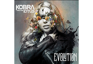 Kobra And The Lotus - Evolution (Digipak) (CD)