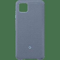 GOOGLE GA01279 Backcover Google Pixel 4XL Nylonstoff, Polycarbonat sowie Innenfutter aus Mikrofaser Blue-ish