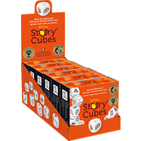 ASMODEE Rory's Story Cubes Spiel, Orange