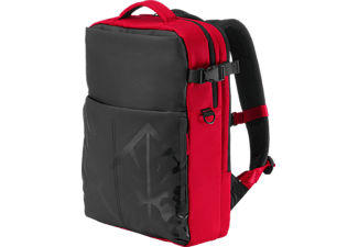 HP Notebook Rucksack Omen Gaming Backpack 17.3 Zoll, rot/schwarz (4YJ80AA)
