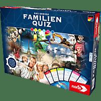 NORIS Das große Familienquiz Gesellschaftsspiel, Mehrfarbig