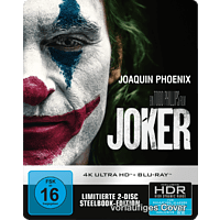 Joker (SteelBook®) [4K Ultra HD Blu-ray + Blu-ray]
