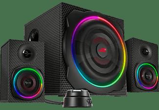 SPEEDLINK GRAVITY CARBON RGB 2.1 Subwoofer System, black