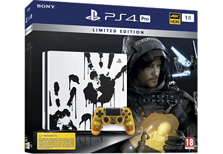 PLAYSTATION PS4 Pro 1 TB Death Stranding Limited Edition Bundle