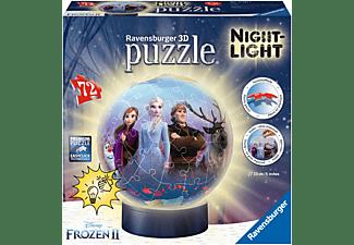 RAVENSBURGER Nachtlicht - Frozen 2 3D Puzzle Mehrfarbig