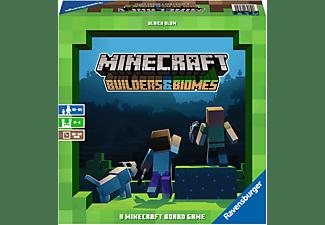 RAVENSBURGER Minecraft: Builders & Biomes Gesellschaftsspiel Mehrfarbig