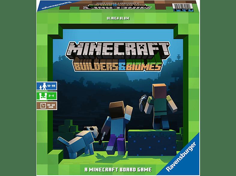 RAVENSBURGER Minecraft: Builders & Biomes Gesellschaftsspiel zum Sonderpreis!