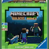 RAVENSBURGER Minecraft: Builders & Biomes Gesellschaftsspiel, Mehrfarbig