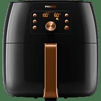 PHILIPS HD 9860/90 AIRFRYER SMART SENSING Heißluftfritteuse 2225 Watt Schwarz/Kupfer