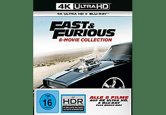 Fast & Furious 8-Movie Collection 4K UHD Exklusiv 4K Ultra HD Blu-ray