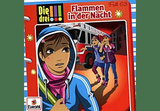 Die Drei ??? - 063/Flammen in der Nacht  - (CD)