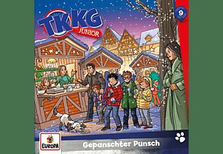 Tkkg Junior - 009/Gepanschter Punsch  - (CD)