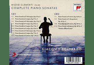 Giacomo Scinardo - Piano Sonatas,Vol.1/opp.1 & 7/+  - (CD)