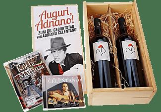 Adriano Celentano - Auguri,Adriano!-Zum 80.Geburtstag von A.Celentan  - (CD + DVD Video)