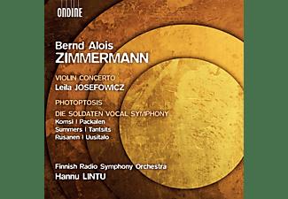 Leila Josefowicz, Finnish Radio Symphony Orchestra - Violin Concerto/Photoptosis/Di  - (CD)