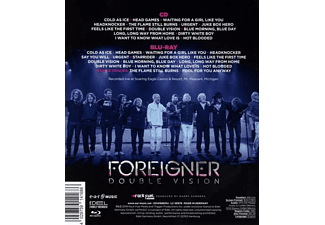 Foreigner - Double Vision:Then And Now  - (Blu-ray + CD)