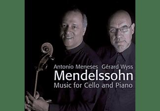 Antonio Meneses, Gerard Wyss - Cello und Klavier  - (CD)