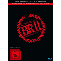 Battle Royale 2-Requiem: REVENGE CUT-3-Disc Li [Blu-ray]