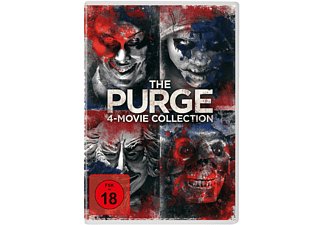 The Purge - 4-Movie-Collection [DVD]