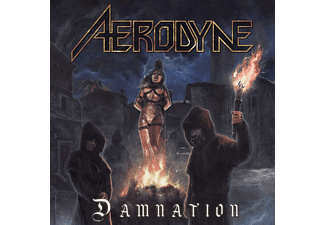Aerodyne - Damnation (Orange/Black Marbled Vinyl)  - (Vinyl)