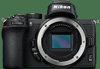 NIKON Z 50 Gehäuse Systemkamera, 8 cm Display Touchscreen, WLAN