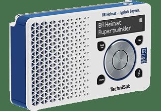 Technisat 1 Br Heimat Edition Dab Radio Dab Ukw Dab Fm Am Weiss Blau Mediamarkt