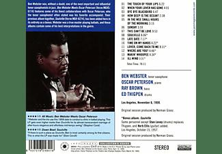 Ben Webster, Oscar Peterson - Meets Oscar Peterson-Jean-Pierre Leloir  - (CD)