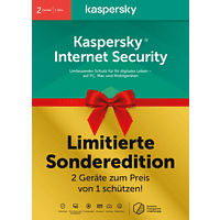 Kaspersky Internet Security 2 Geräte Limited Edition (Code in a Box)