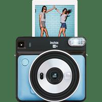 FUJIFILM Instax SQUARE SQ6 Travel Set Sofortbildkamera, Aqua Blue