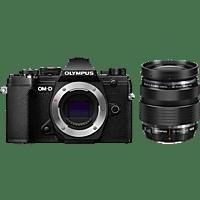 OLYMPUS OM-D E-M5 Mark III schwarz mit Objektiv M.Zuiko Digital ED 12-40mm F2.8 (V207090BE020)