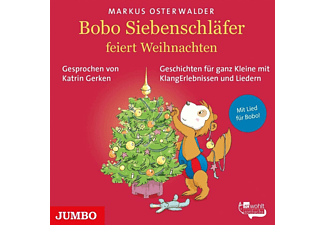 Markus Osterwalder - Bobo Siebenschläfer Feiert Weihnachten.Geschichte  - (CD)