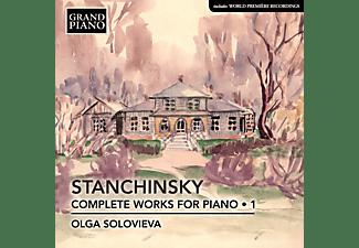 Olga Solovieva - Sämtliche Werke für Klavier,Vol.1  - (CD)