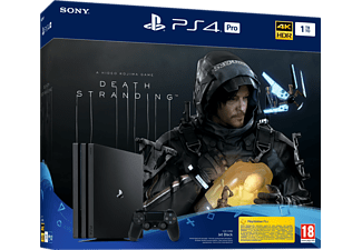 PlayStation 4 Pro 1TB - Death Stranding Bundle - Spielekonsole - Jet Black