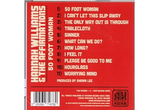 Hannah/the Affirmations Williams - 50 FOOT WOMAN  - (CD)