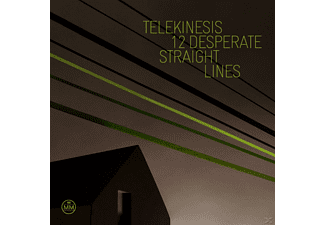 Telekinesis - 12 Desperate straight lines  - (CD)