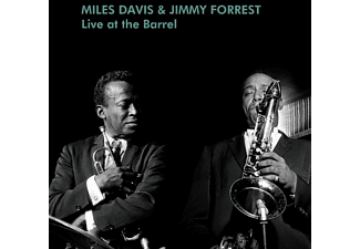 Miles -& Jimmy Forest- Davis - Live At The Barrel - LP
