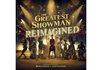 VARIOUS - THE GREATEST SHOWMAN:REIMAGINED  - (CD)