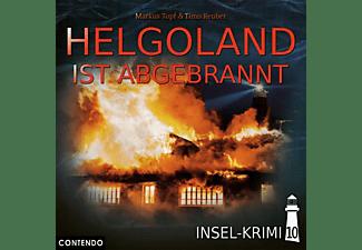 Insel-krimi - Insel-Krimi 10-Helgoland Ist Abgebrannt  - (CD)