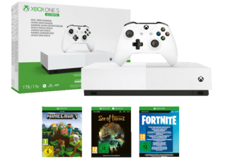 MICROSOFT Xbox One S 1TB – All Digital Edition