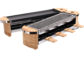 NOUVEL Docking-Wood - Raclette (Nero/Legno)