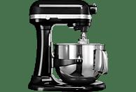 KITCHENAID 5KSM7580XEOB Artisan Küchenmaschine Onyx Schwarz (Rührschüsselkapazität: 6,9 Liter, 500 Watt)