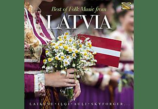 VARIOUS - Best of Folk Music from Latvia  - (CD)
