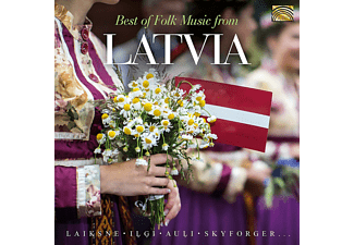 VARIOUS - Best of Folk Music from Latvia - (CD)